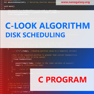 C Program to Simulate C-LOOK Disk Scheduling Algorithm   Logic Explained
