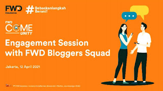 Engangement Session With FWD Blogger Squad