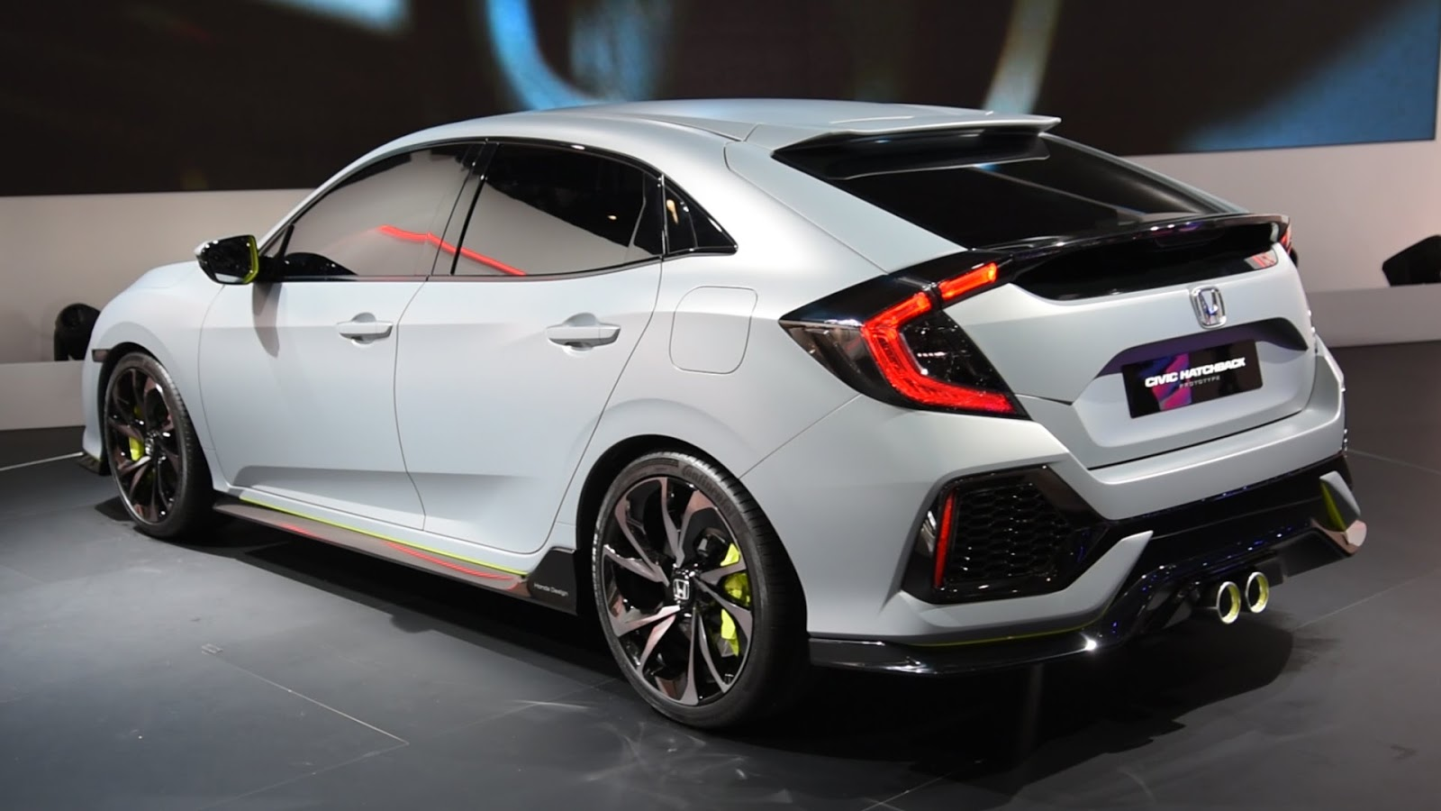 2016 honda civic hatchback trend car gallery for Honda 2016 models