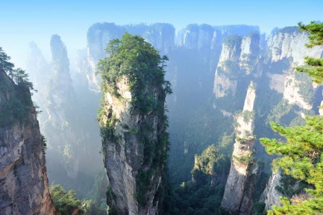 Montanhas Tianji, China