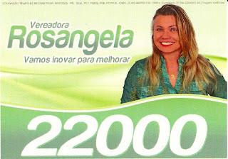 Eleições 2016 - Rosângela de Zezinho