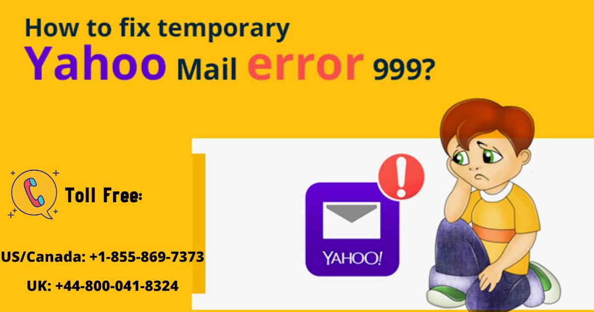 How To Fix Yahoo Error Code 999?