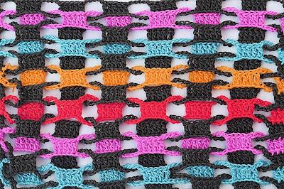 2 - CROCHET Imagen Punto entrelazado a crochet y ganchillo muy fácil y sencillo por MAJOVEL CROCHET