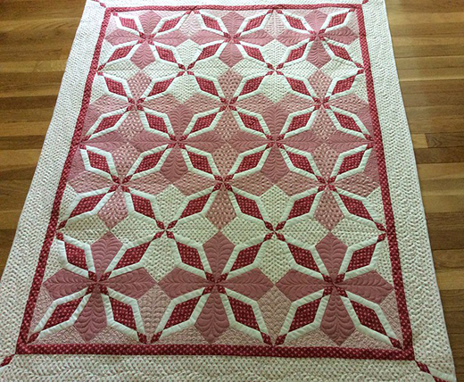 Bedford Springs Quilt designed by Wendy Sheppard for Windham Fabrics using Simply Red Collection