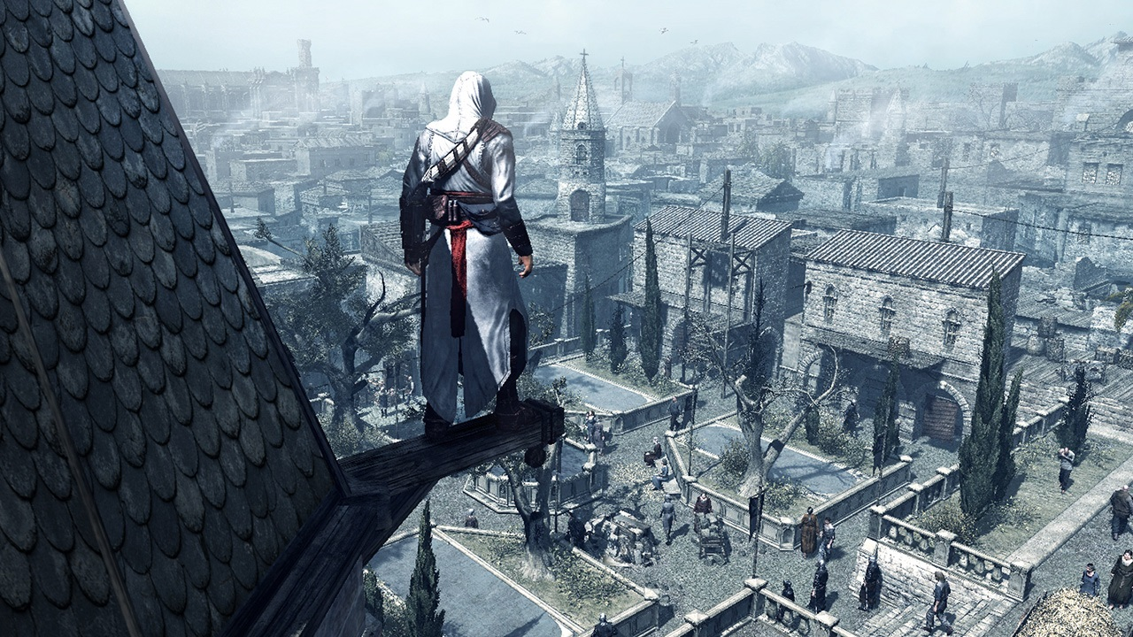 Assassin's Creed sendo jogado na marra!