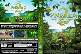 MINUSCULOS 2: MANDIBULAS EN EL FIN DEL MUNDO – MINUSCULE 2: LES MANDIBULES DU BOUT DU MONDE – 2018 [COVER – DVD]