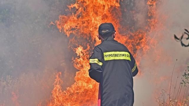 Σε δύσβατη περιοχή το βασικότερο μέτωπο της πυρκαγιάς στην Ανατολική Μάνη
