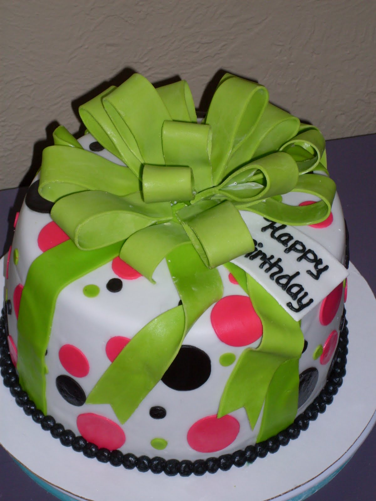 Kaci's Cake Delight: Happy Birthday, Emily