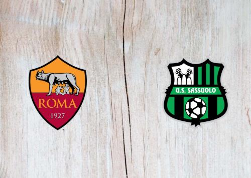 Roma vs Sassuolo -Highlights 06 December 2020
