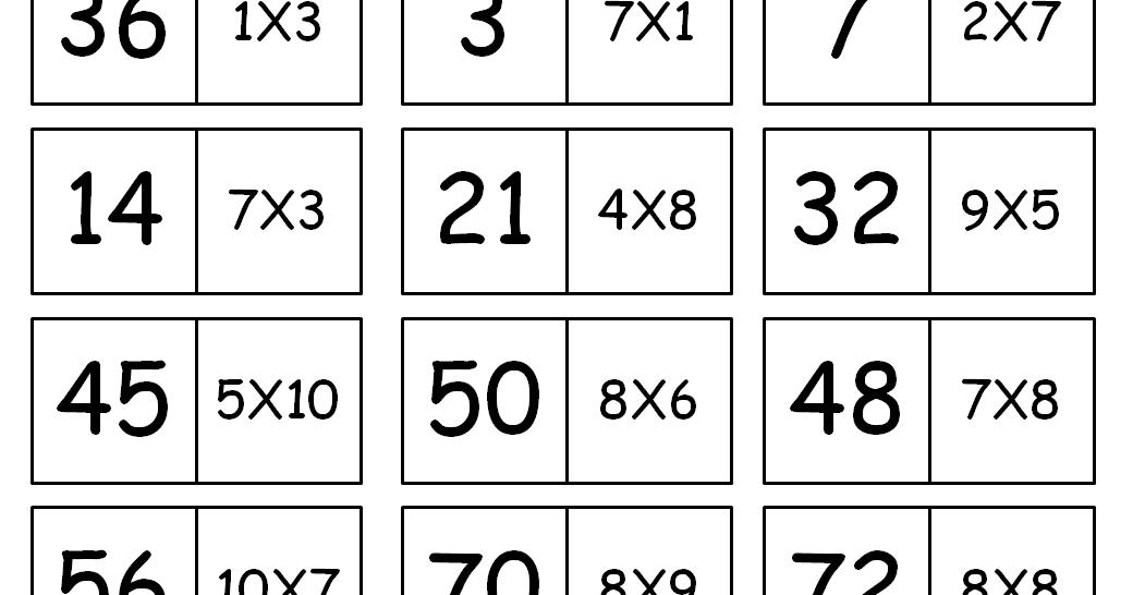 Rosearts Atividades Para Imprimir Domino De Tabuada Para