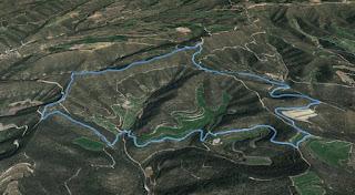 Recorregut: Les Maioles-Puig de Sant Miquel (El repte dels 100 cims)