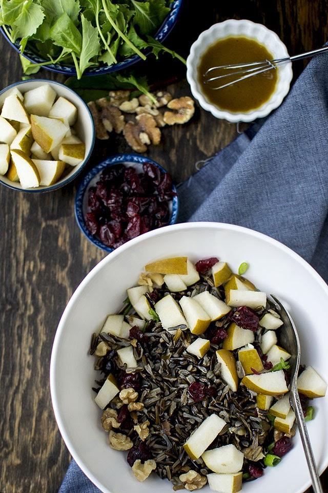Kale & Wild Rice Salad