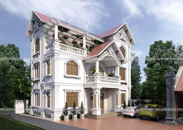 House Free Sketchup Exterior Scene
