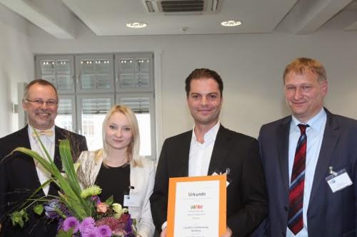 Platz 3 des Website-Awards 2014 der IHK Nürnberg: Lauschner Lichtwerbung GmbH.