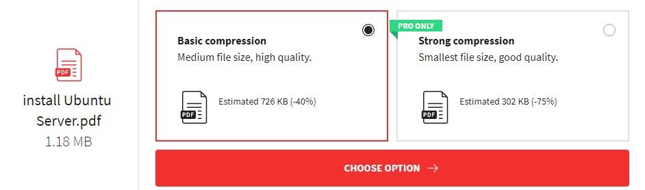 cara mengkompres file pdf online