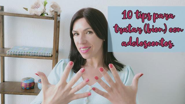 Autoestima y más: 10 tips para tratar (bien) con adolescentes.