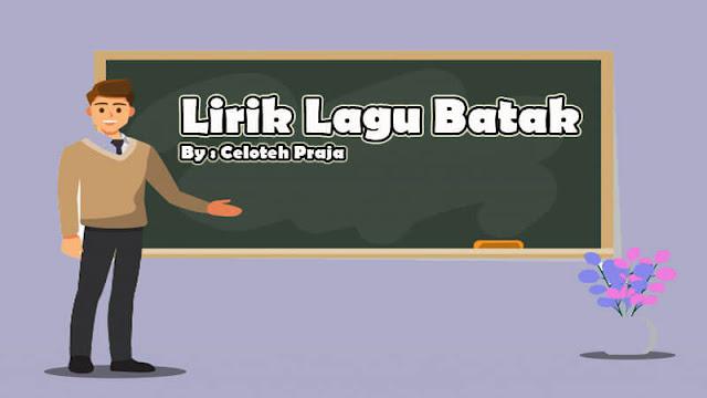 Lirik Lagu Batak Lugahon Au Da Parau |A Sing Sing So By S. Dis