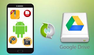cara backup data xiaomi ke google drive