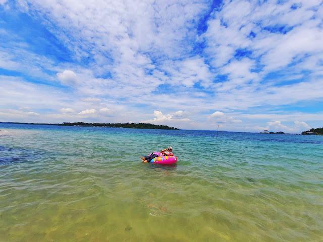 Pantai Pulau Tunjuk Batam