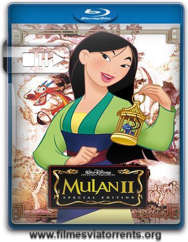 Mulan 2 - A Lenda Continua Torrent - BluRay Rip 720p Dublado