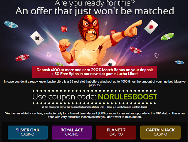 290% match bonus and 50 free spins | Planet7 casino