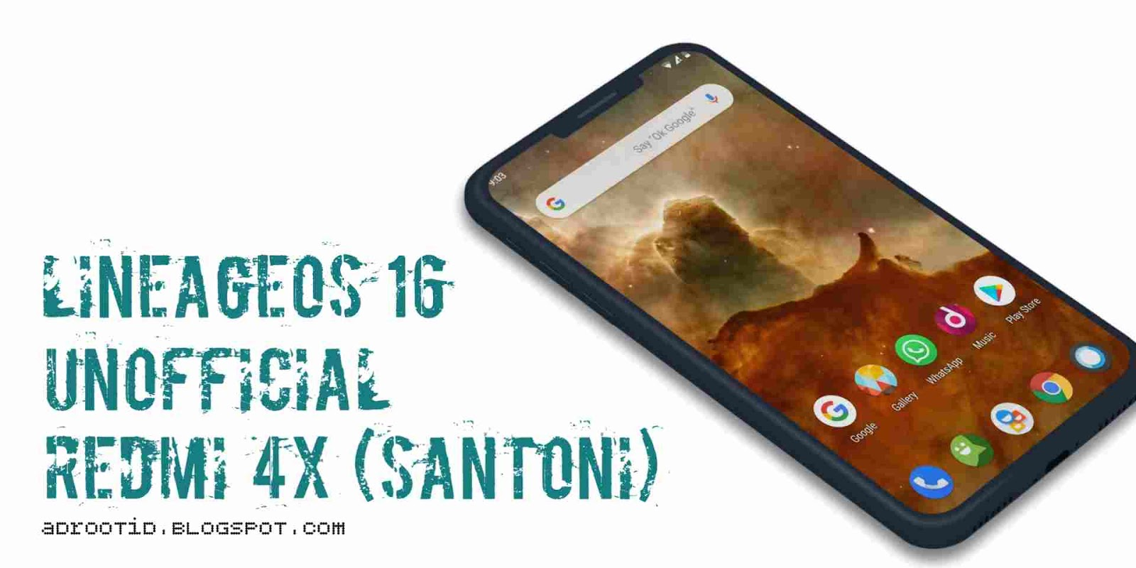 LineageOs 16.0 Redmi 4X