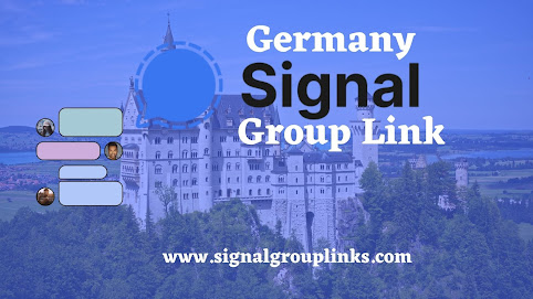 Germany Signal Group Link