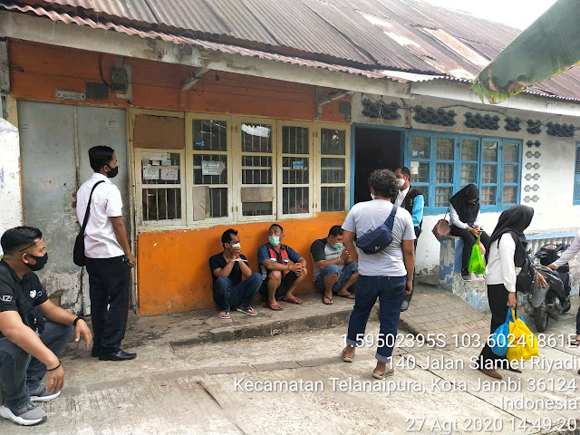 BNNP Jambi Tangkap Delapan Anggota Sindikat Sabu di Kampung Narkoba