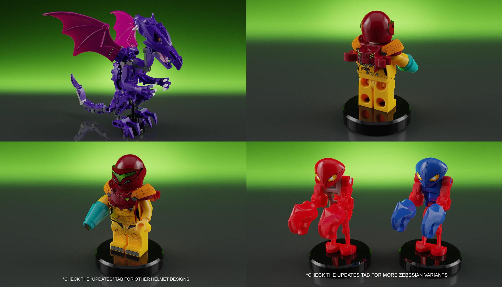 レゴアイデアで『メトロイド:サムス・アランのスターシップ』が製品化レビュー進出!2021年第1回1万サポート獲得デザイン紹介