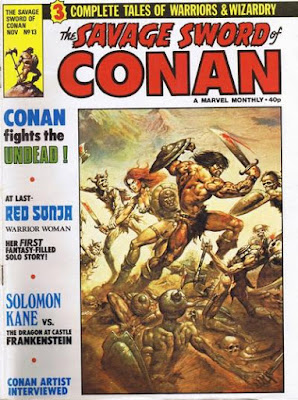 Savage Sword of Conan #13, Red Sonja