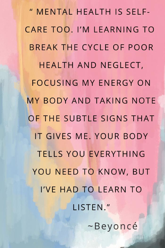 Mental Health Is Important. Take care of yourself-designaddictmom