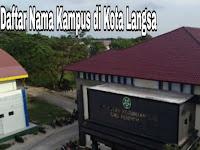 5+ Kampus terbaik di Kota Langsa
