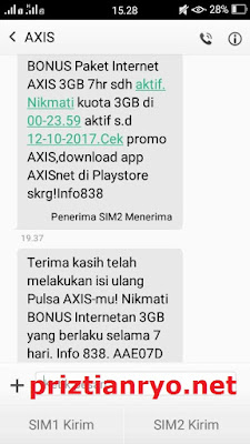 Paket Internet Super Murah Axis 5 Ribu Dapat 3 GB