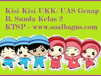Kisi Kisi UKK B. Sunda KTSP Kelas 2