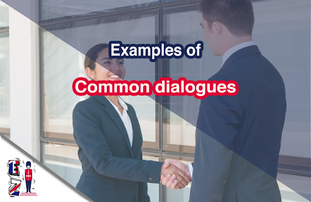 Learn to build a dialogue on your own and to easily start a conversation with examples of common English dialogues