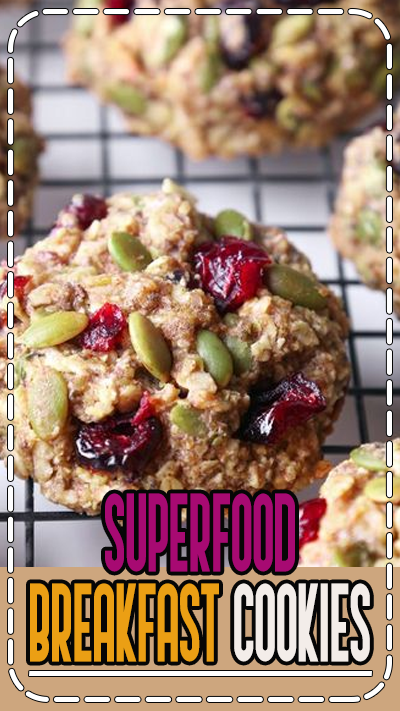Superfood Breakfast Cookies - www.uniquegiftstips.com