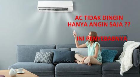 Penyebab AC Tidak Dingin