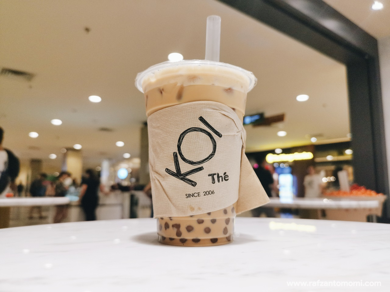 KOI The Brown Sugar Milk Tea - Cuba Try Test Tengok