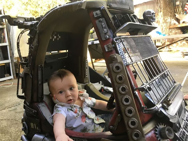 12-Ian-Pfaff-Little-Tikes-Cozy-Coupe-Infused-with-Mad-Max-www-designstack-co