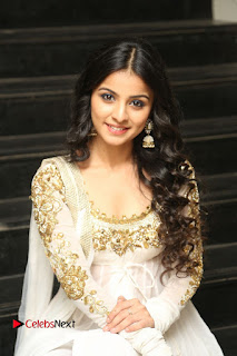 Telugu Actress Mahima Makwana Stills in White Desginer Dress at Venkatapuram Movie Logo Launch  0205.JPG