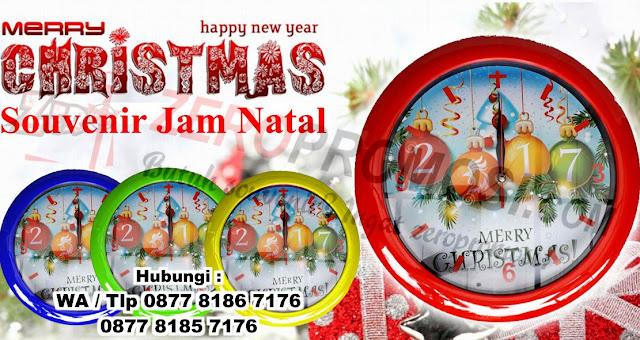 Jam dinding natal dan tahun baru, Jam Dinding Kaca Natal Harga Murah, Jam Dinding Unik Dengan Gambar Tema Natal untuk Dekorasi Natal anda