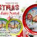Souvenir Jam Natal - Jam dinding Natal