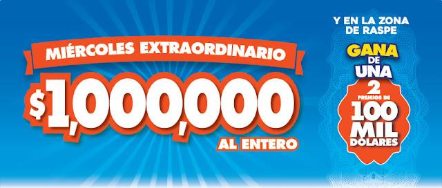 resultados loteria nacional miercoles extraordinario
