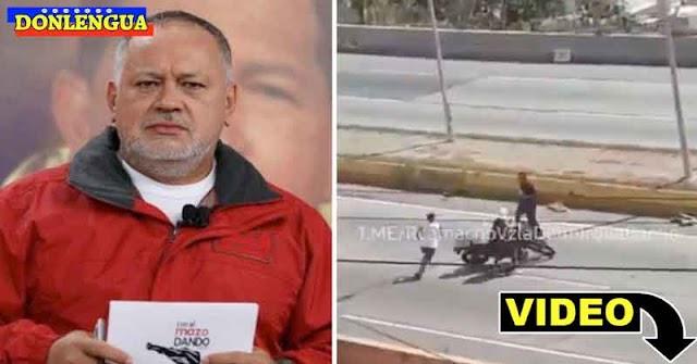 Diosdado inventa que los paramilitares son los que roban motos en la Cota 905