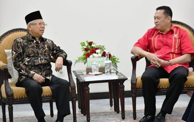 Bamsoet Dukung Gagasan Wapres Maruf Amin Wujudkan Desa Digital
