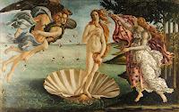 O Nascimento de Vênus - Botticelli - Pinturas famosas sem seus personagens