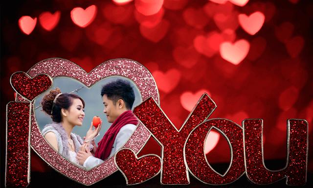 Valentine Photo Frames : Valentine Photo Editor