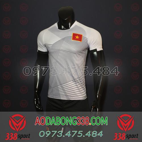 Áo Đội Tuyển Việt Nam Xám 2018 2019 TM