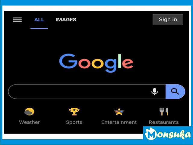 mode gelap google chrome versi mobile