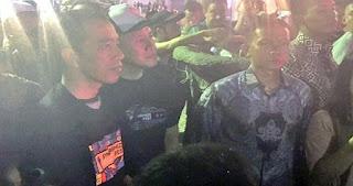 Jokowi Malam Mingguan Nonton Musik Metal di Synchronize Fest 2017